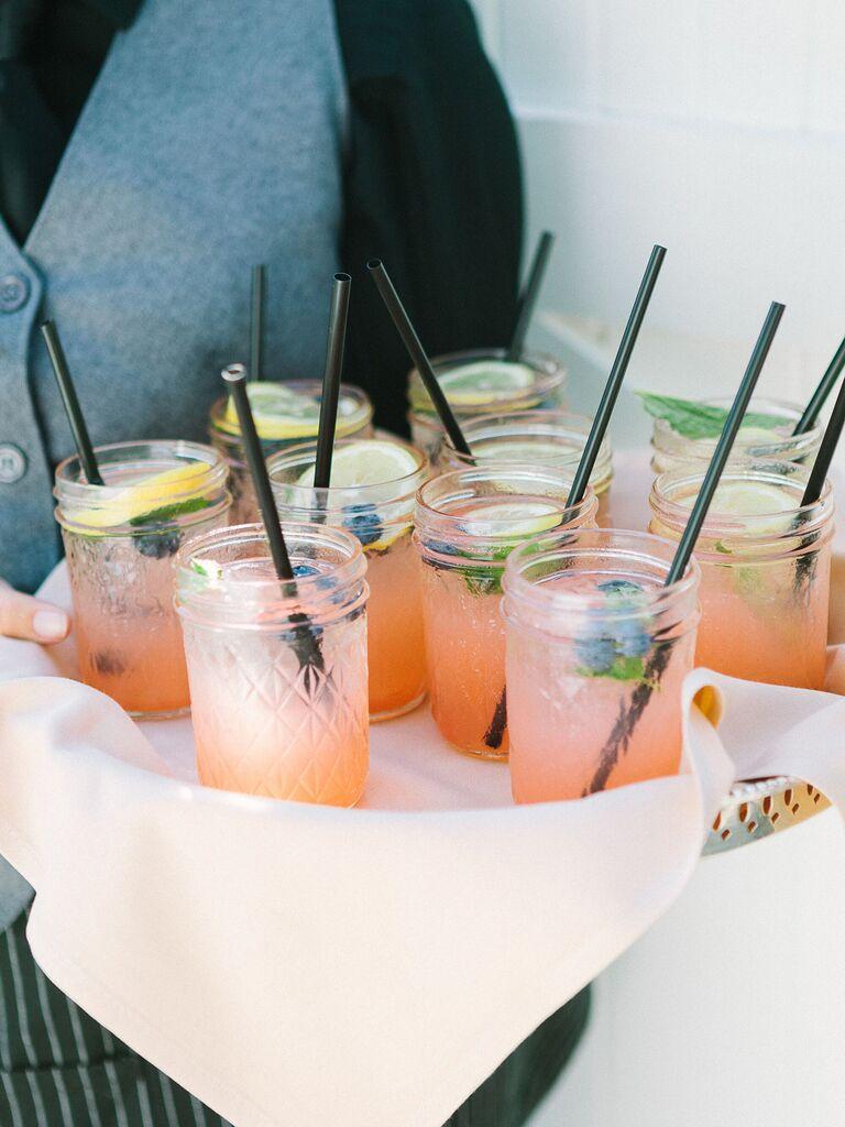 wedding drink ideas watermelon mojitos
