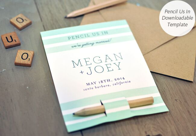 6 Diy Save The Date Templates You Can Easily Pull Off