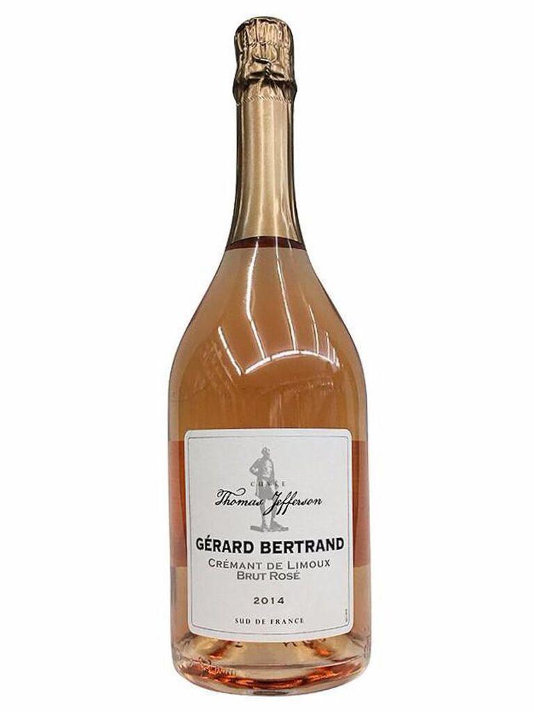 Gérard Bertrand Crémant de Limoux Cuvée Thomas Jefferson brut rosé