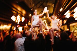 Traditional Jewish Hora Dance