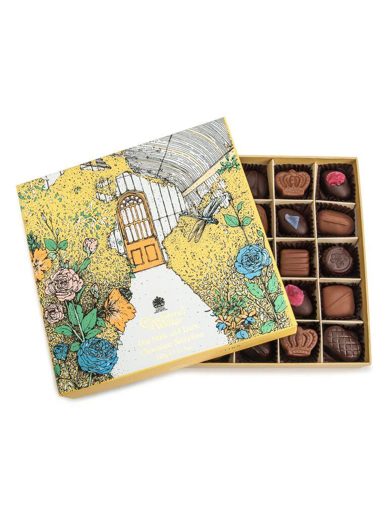 25 chocolate truffles 25th anniversary gift