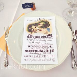 Graphic Menu Cards