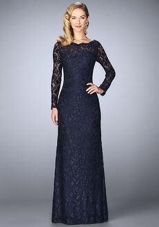 La Femme Evening 24869 Blue Mother Of The Bride Dress