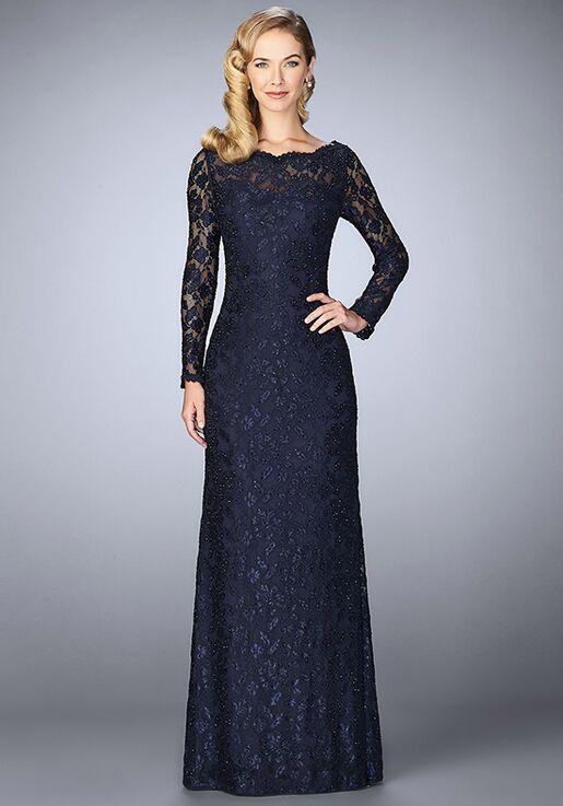 La Femme Evening 24869 Blue Mother Of The Bride Dress