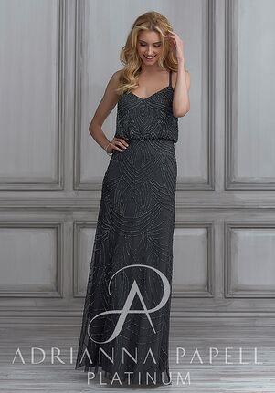 Adrianna Papell Platinum 40105 Sweetheart Bridesmaid Dress