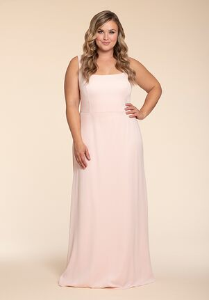 Hayley Paige Occasions W904 Square Bridesmaid Dress