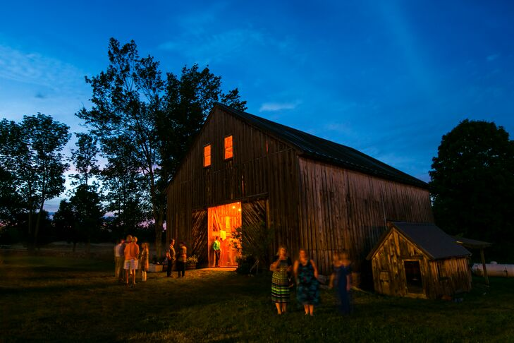 Historic Barn Reception