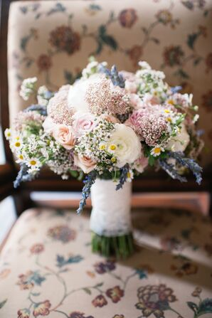 Wildflower and Rose Bouquet