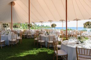 Tented Ocean-View Reception