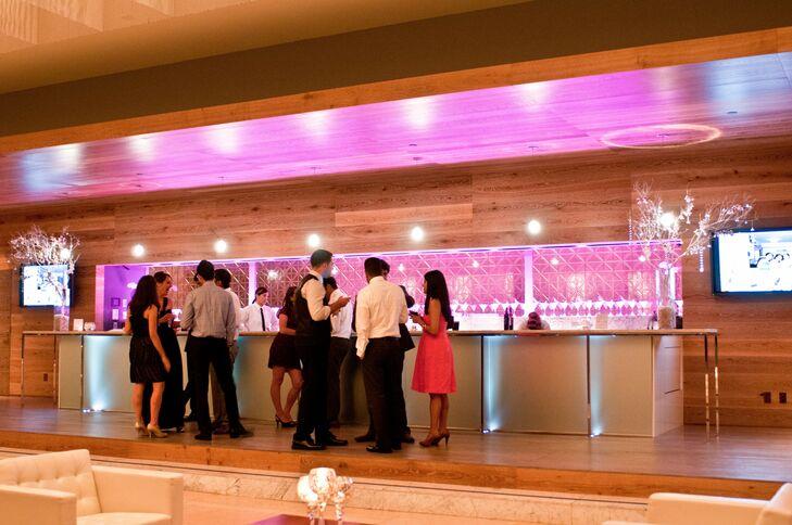 Pink Reception Bar