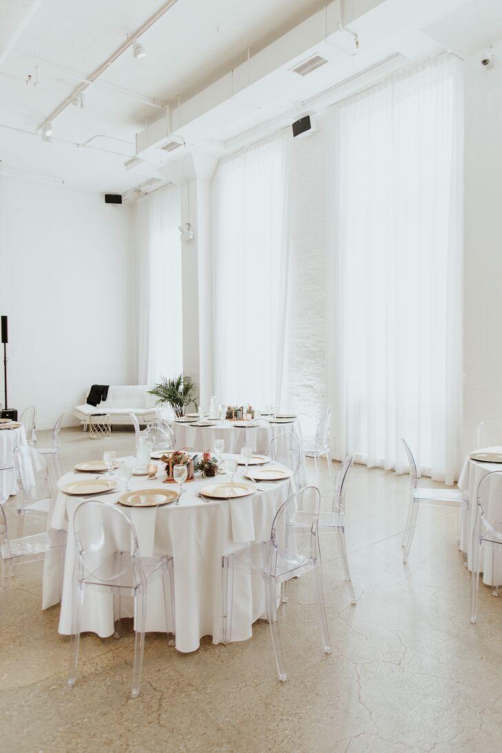Modern White Reception Space
