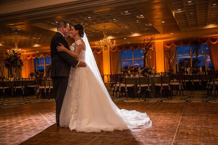 First Dance at Shenandoah Country Club Ballroom