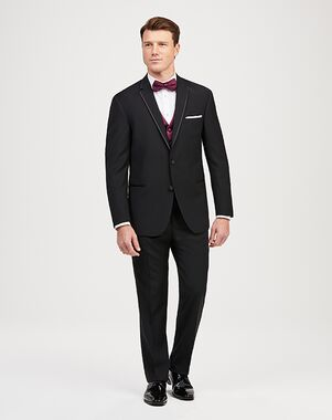 Jos. A. Bank Framed Edge Black Tuxedo Black Tuxedo