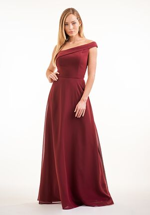 JASMINE P226004 One Shoulder Bridesmaid Dress