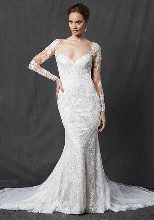 Michelle Roth for Kleinfeld Walden Sheath Wedding Dress
