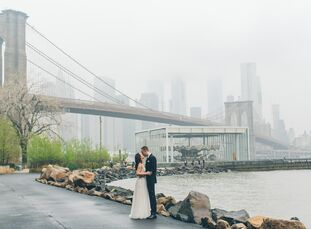 "For their ""I dos,"" Nana Chang and Jeremy Shaw planned an intimate elopement in New York City with a handful of their closest family and friends.<br><b"