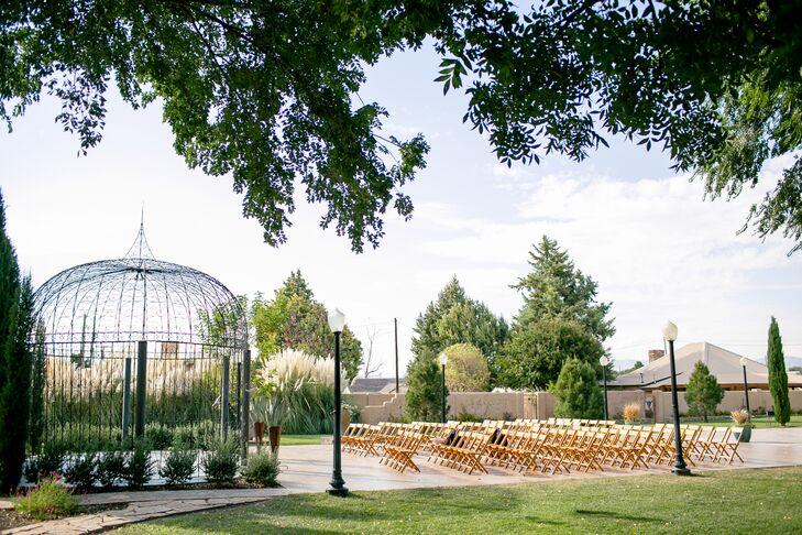Gage Hotel Garden Ceremony