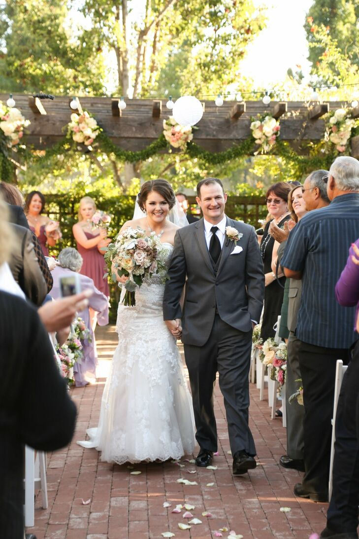 Couple Recessional Outside History Museum