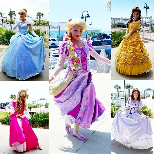 Fairytales and Dreams by the Sea Princess Parties - Princess Party - Wilmington, NC