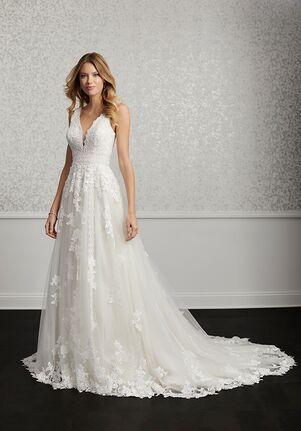Adrianna Papell Platinum 31119 A-Line Wedding Dress
