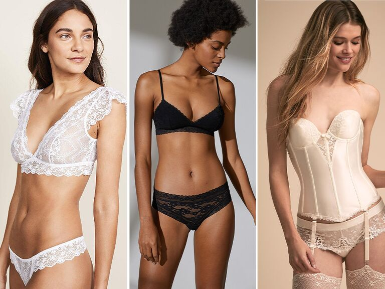 853f53b61 Your wedding night—and honeymoon—call for some special lingerie. But  there s a whole lingerie lingo to get to know when you re shopping.