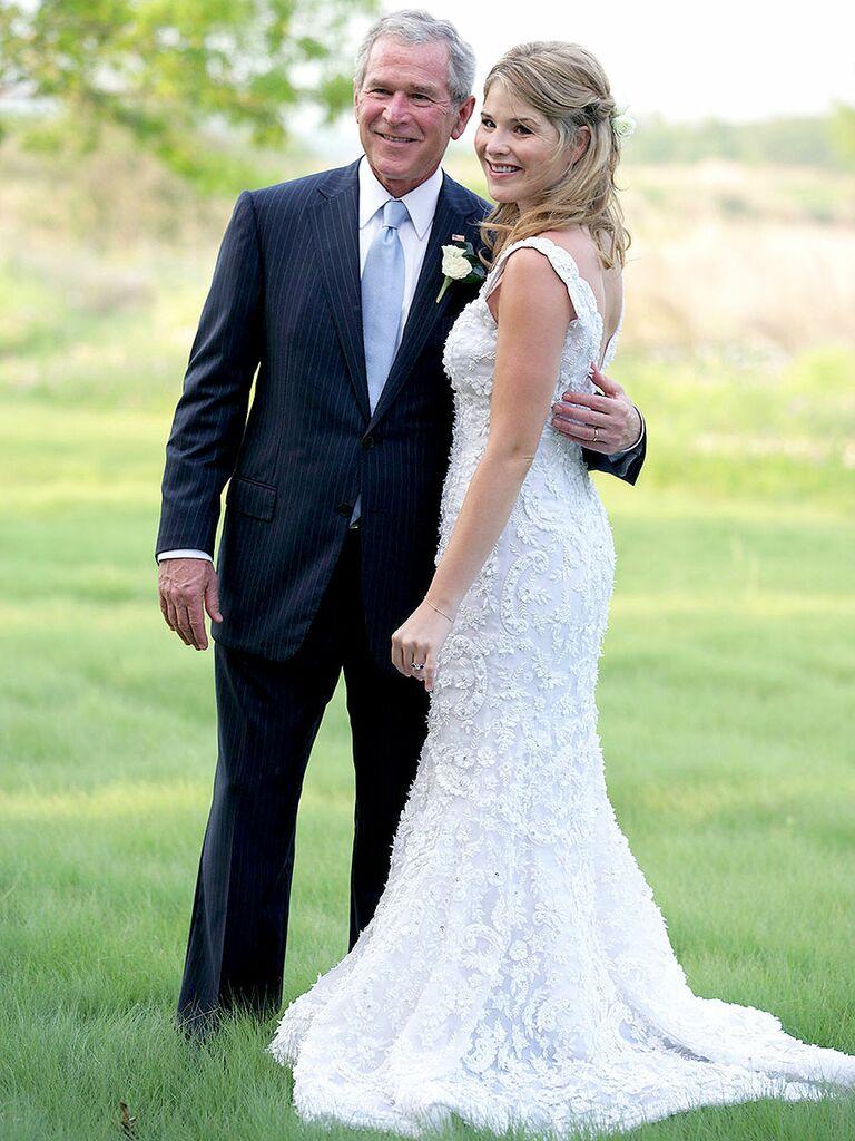 Jenna Bush Wedding Dress
