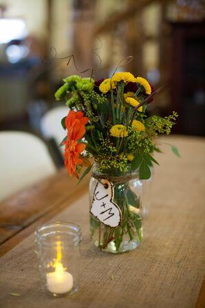 Wild Flower Centerpieces