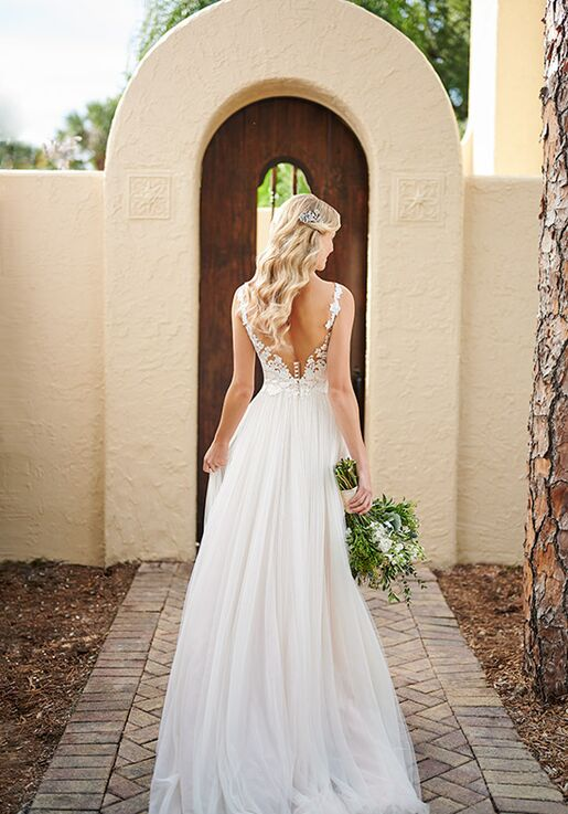 Stella York 7204 A-Line Wedding Dress