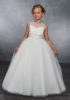 Mary's Angel by Mary's Bridal MB9037 White Flower Girl Dress