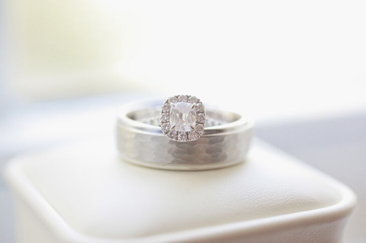 Princess-Cut Diamond Wedding Ring