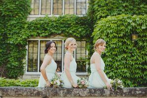 Charming, Mint Bridesmaid Dresses