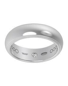 Everband 6 mm Milgrain Gold, White Gold, Platinum, Rose Gold Wedding Ring