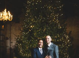 For their winter wedding in Brooklyn, New York, Jackson Bloom (35 and a diplomat) and Jacob Jeffries (35 and a diplomat) pulled off an intimate affair