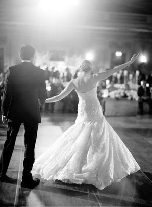 Traditional First Dance at the Andrew W. Mellon Auditorium in Washington D.C.