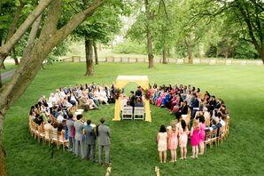 Hindu Ceremony at Zingerman's Cornman Farms in Dexter, Michigan