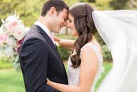 For Nicole Piperidis (29 and a nurse) and Jeremy Robbins (32 and a physician), finding a venue that could host an outdoor affair was at the top of the