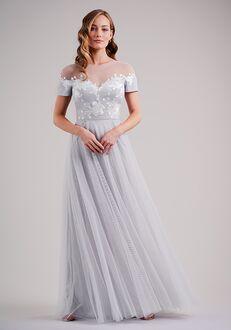 Belsoie Bridesmaids by Jasmine L224003 Illusion Bridesmaid Dress