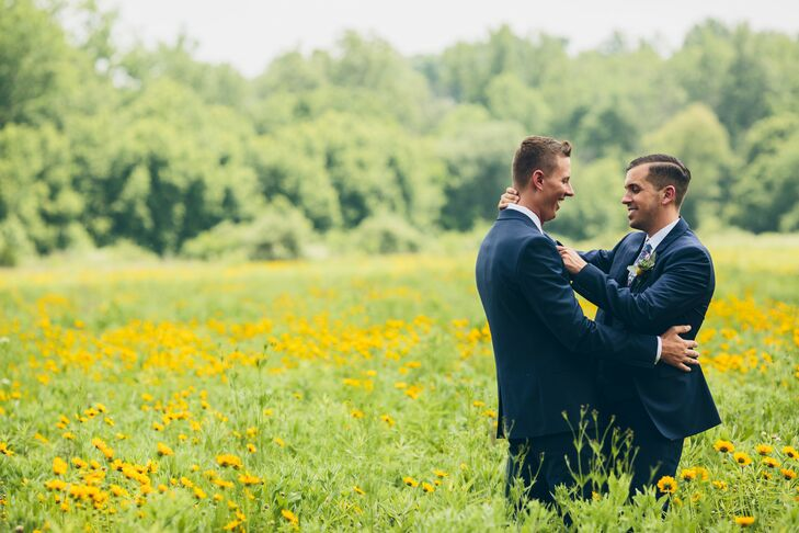 While planning their wedding, Michael Platt (28 and an ob-gyn resident physician) put in long hours at the hospital, and Zane Faulkner (29 and a clini