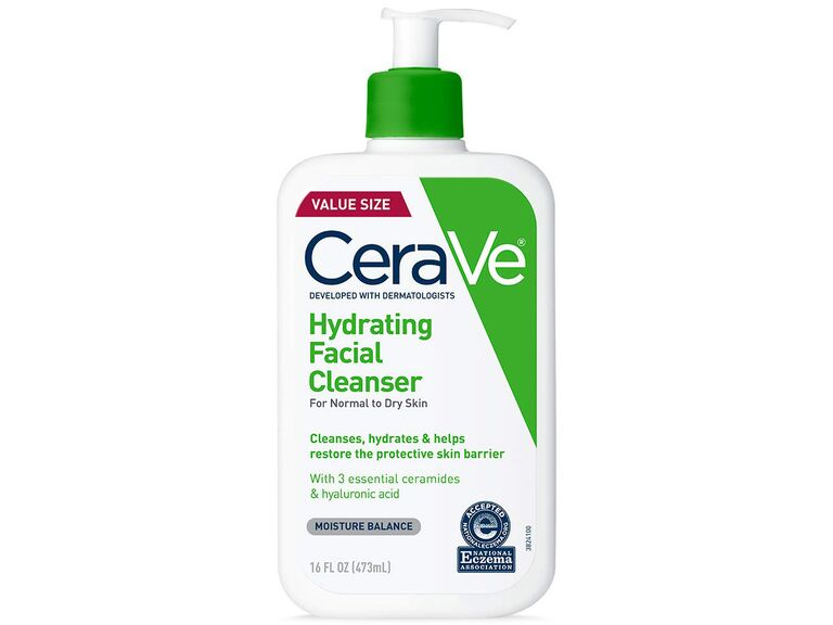 how to treat maskitis: gentle cerave cleanser