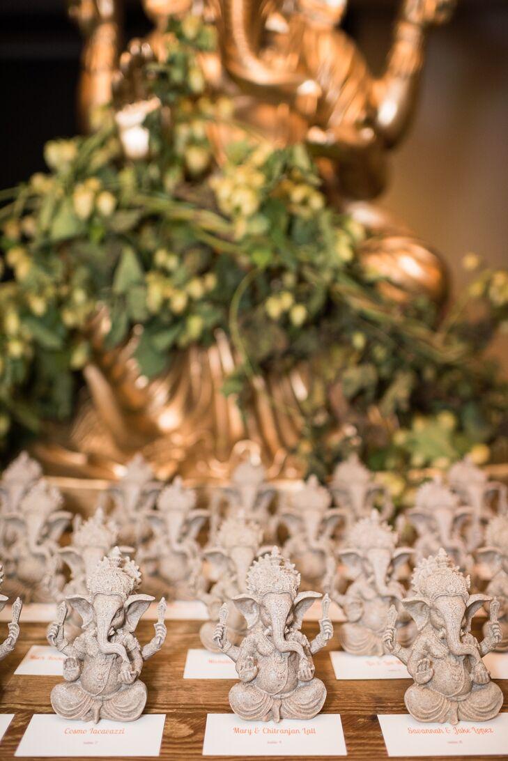 Hindu-Inspired Ganesha Escort Cards