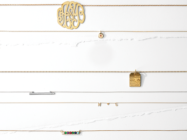 These Delicate Charm Necklaces Make the Prettiest Wedding Gifts