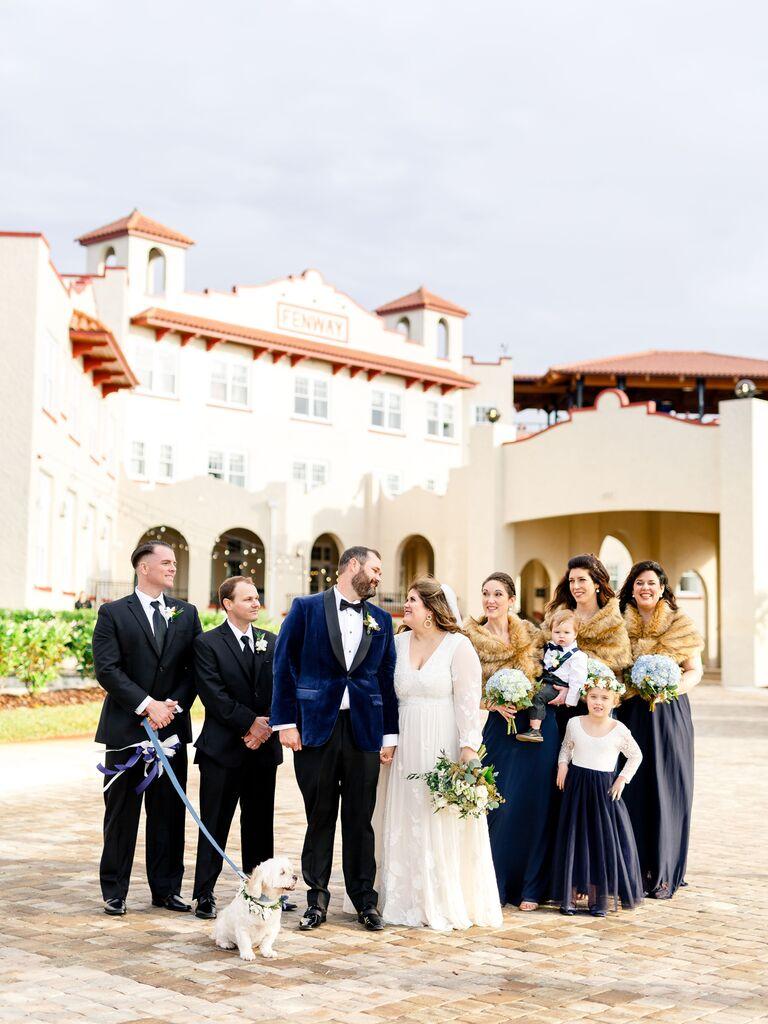 Wedding venue in Dunedin, Florida.