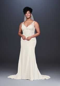 David's Bridal David's Bridal Style 9WG3875 Mermaid Wedding Dress