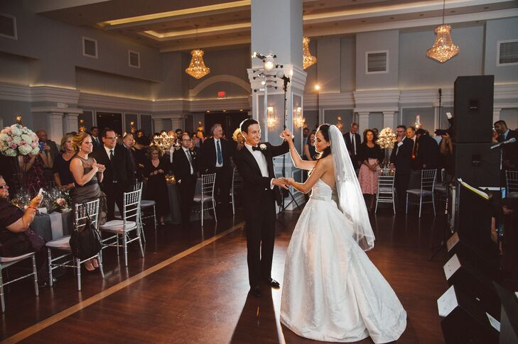 First Dance in the Arts Ballroom