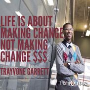 Grand Rapids, MI Inspirational Speaker | Trayvone Garrett
