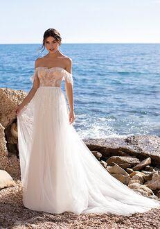 WHITE ONE GENNARIA Ball Gown Wedding Dress