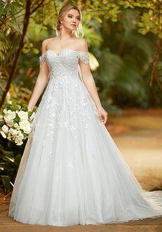 Essense of Australia D3221 Ball Gown Wedding Dress