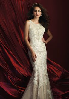 Allure Couture C371 Sheath Wedding Dress