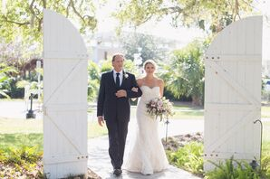 Vintage Barn Door Ceremony Entrance