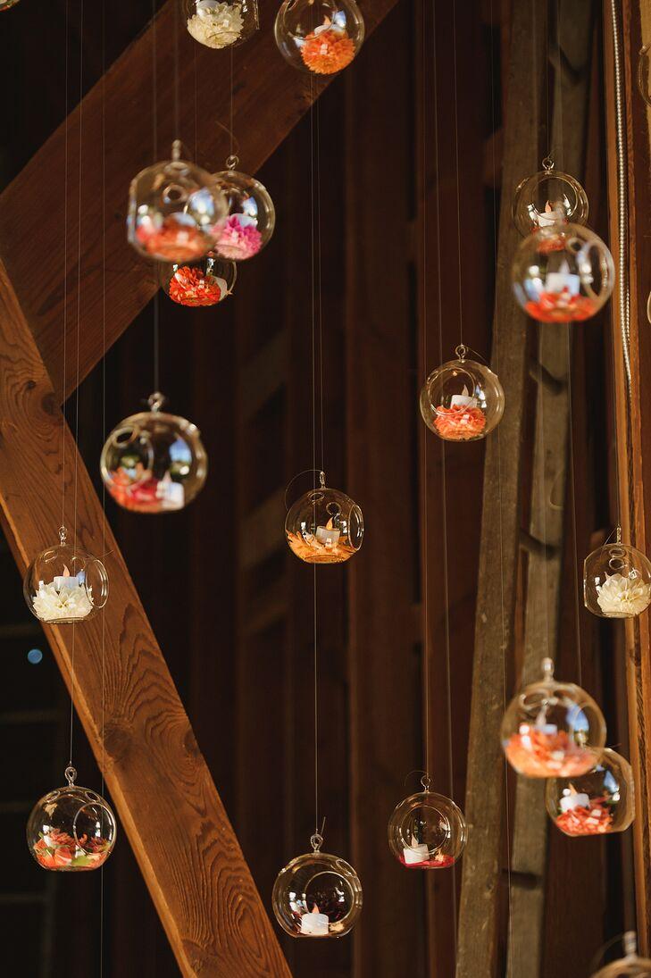 Glass Bulb Reception Decor